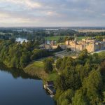 Blenheim Palace Aerial View