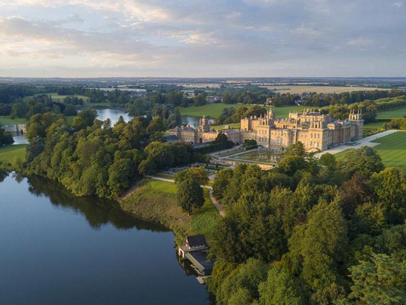 Blenheim Palace Aerial View