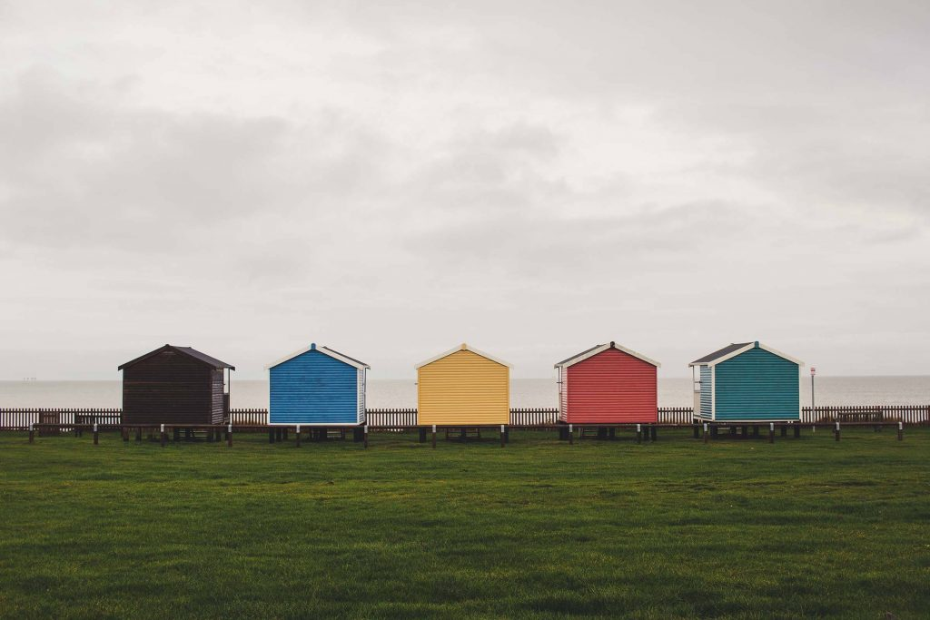 Beach Huts, Isle of Sheppey