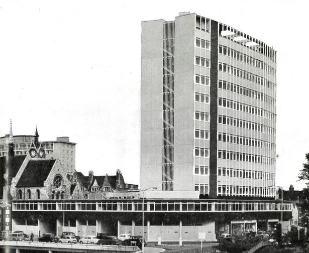 Photo of original Essex House building